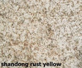shandong rust yellow