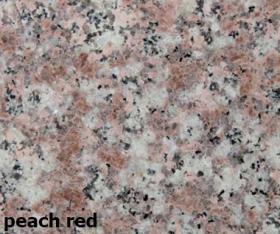 peach red