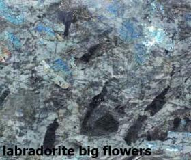 labradorite big flowers